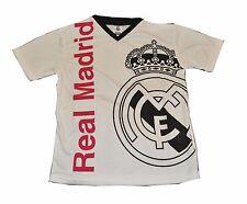 Real Madrid jersey Youth Boy Soccer Jersey Cristiano Ronaldo 7 White Black