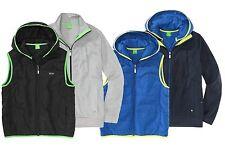 NWT Hugo Boss Green Label By Hugo Boss Hoody 2-in-1 Jacket Gilet & Sweatshirt