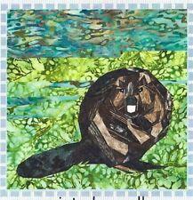 Wee Beaver Paper Piecing Pattern Silver Linings