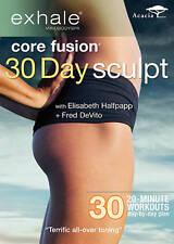 NEW Exhale: Core Fusion - 30 Day Sculpt (DVD, 2012)