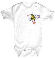 Bebé Body de calidad Bodys 0-24 meses bordado Abeja Baker 12717