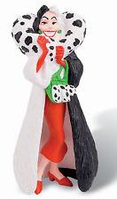 Figurine DISNEY Les 101 Dalmatiens Cruella D'Enfer 10cm