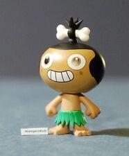 """Pocket God 2.5"""" Vinyl Figures Pygmy Goofy Smile 2/24 Rarity"""
