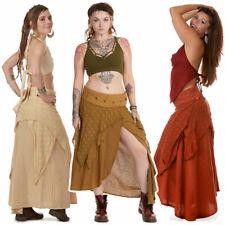 Boho Goddess Skirt, Psy Trance Clothing, Ladies Hippy Jute Natural Eco Clothing