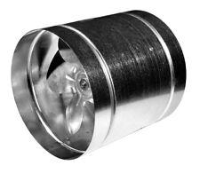 Heavy Duty Inline Extractor Fan Industrial / Commercial Metal Duct Ventilator