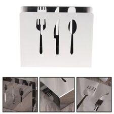 Stainless Steel Napkin Rack Box Dispenser Tissue Holder Cutlery Table Decor