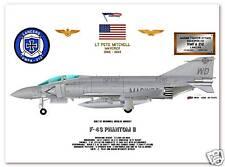 F-4S Phantom II, VFMA-212 Lancers USMC  Fighter Print