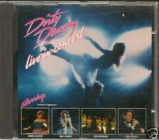 CD ALBUM LIVE--DIRTY DANCING--LIVE IN CONCERT 1989