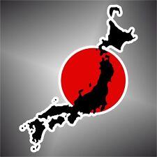 adesivo bandiera giappone japan flag sticker autocollant pegatina aufkleber