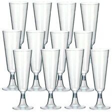 10/20/30/40/50/70/100 X EINWEG SEKTGLÄSER 0,1L Champagnerglas Sektglas Plastik