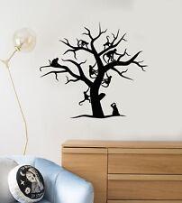 Vinyl Wall Decal Tree Monkeys Animals Kids Room Baby Nursery Art Stickers ig5096