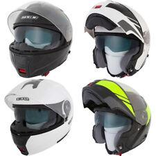 Spada Cyclone Blast DVS Flip Front Motorbike Motorcycle Helmet Double Visor