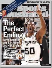 June 23, 2003 David Robinson San Antonio Spurs SPORTS ILLUSTRATED NO LABEL WB