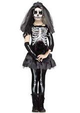 Chicas novia Gothic Esqueleto Disfraz De Halloween