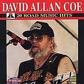 "DAVID ALLAN COE, CD ""20 ROAD MUSIC HITS"" NEW SEALED"