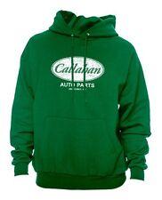 CALLAHAN AUTO PARTS tommy cool boy Green Gildan Hoodie 50% Polyester 50% Cotton