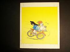 bozzetto DROOPY (Tex Avery) ciclismo ediz. Malipiero