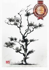 NEW JAPANESE TREE ARTWORK ORIGINAL HOME DECOR PAINTING ART PRINT PREMIUM POSTER