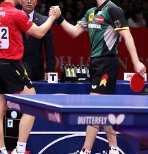 German table tennis team Shirt + Shorts (Colour: Red/Black/Green/Grey) UK