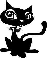 Cute Cat Car Camper Van Window 4x4 Sticker Decals ~7