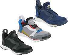 ADIDAS BLU aumento Scarpe Sportive Running Cloudfoam leggero Mens Sport UK