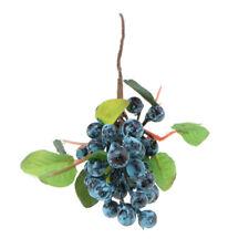 Artificielle Fruit Baies Branche En Plastique Faux Bouquet Accueil Party