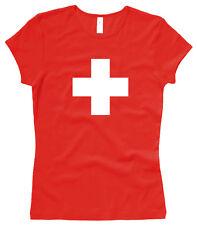 Schweizer Kreuz SWISS CROSS - GIRL / Woman T-Shirt - Gr. XS bis XL