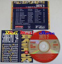 CD BASI SANREMO 94MEGLIO Laura Pausini Michele Zarrillo Loredana Berte lp mc c24