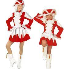 Tanzmariechen Funkenmariechen Partner Kostüm Damen Mädchen Garde Uniform Kinder