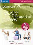 Lower Body Conditioning - Yoga / Balance Ball / Pilates NEW Ships Free