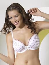 Panache 5686 Cleo Toni Plunge Bra Lingerie White / Pink