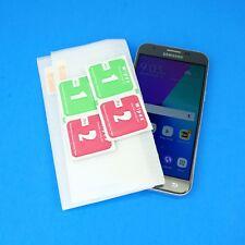 Tempered Glass OR Plastic Protectors Lot for Samsung J3 Prime/Emerge/Luna Pro