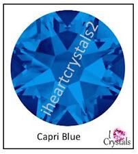 CAPRI BLUE HOTFIX Swarovski Flatback 1440 pcs 6ss 8ss 10ss 12ss 16ss 20ss 34ss