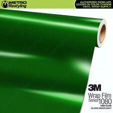 3M 1080 Series GLOSS GREEN ENVY Vinyl Vehicle Car Wrap Film Sheet Roll G336