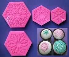Dentelle DOILIES Cupcake Topper-dentelle moule par fairie bénédictions