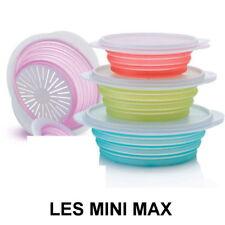 Boîtes MINI MAX Tupperware (hauteur adaptable) neuves coloris et taille au choix