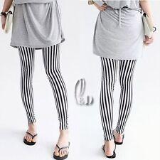 AU SELLER Cotton Striped Design Leggings Pants SZ S-XL/AU6-14 p107
