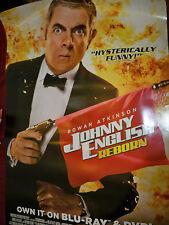 "Johnny English reborn Movie DVD Release Poster 27"" x 40"""