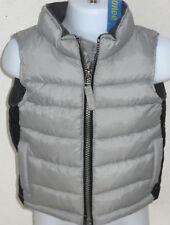 Gymboree Boy's Snowboarding Legend Gray Puffer Vest Size 6-12 Months
