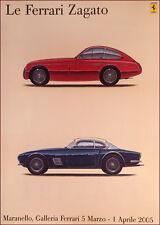 Ferrari Zagato poster print