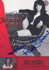 KATE O'MARA Signed 7x5 Photo HAMMER HORROR FRANKENSTEIN  COA