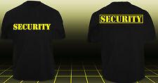 SECURITY T-Shirt Sicherheitsdienst Ordner Police Polizei SWAT Sicherheit TOP PR