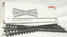 Märklin 2259 K rail Kruising 22° 30' raillengte 168.9 mm. Volledig nieuw in verp