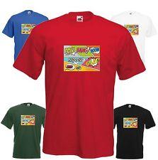 Comic Speech T Shirt Cool Xmas Super Hero Retro Funny Humour Gift Cartoon Tee FC