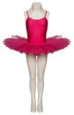 Peony Pink Plain Front Dance Ballet Tutu Leotard All Sizes By Katz Dancewear