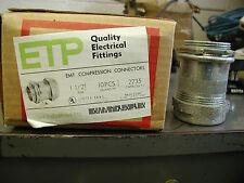 "ETP 2235 EMT Compression Connectors 1 1/2"" 10 Pieces"