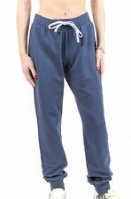 CHAMPION Pantaloni cotone palestra Donna Heritage Light blu