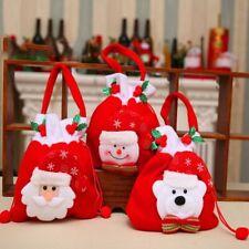 Weihnachtsmann Weihnachten Geschenk Taschen Weihnachtsbaum Süßigkeit-Beutel