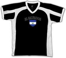 El Salvador Flag Crest Bandera National Country Pride Retro Sport T-shirt