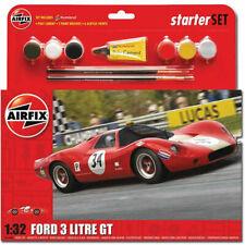 AIRFIX A55308 Starter Set Ford 3 Litre GT 1:32 Plastic Model Kit